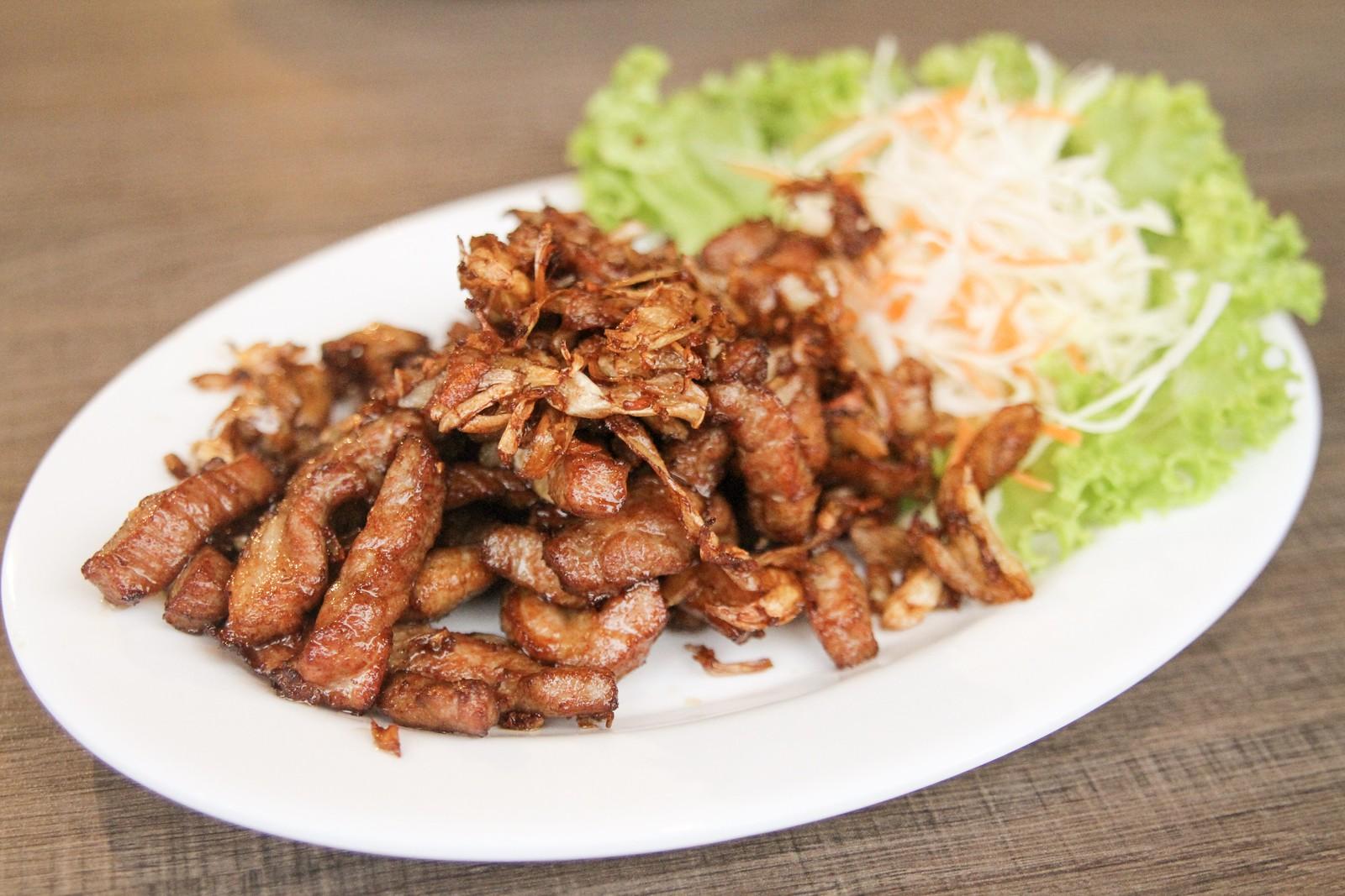 Penguin's Kitchen Deep Fried Garlic Pork