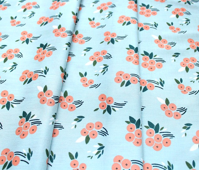 Cloud9 Fabrics Stockbridge 216001 Buck's Oak Blue