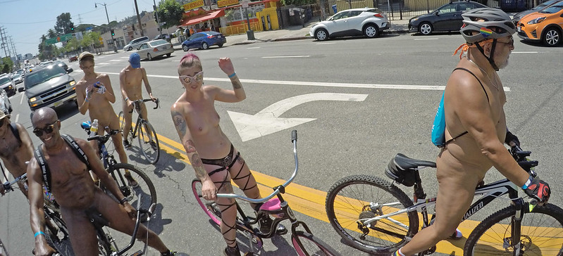 LA World Naked Bike Ride 2019 (145532)