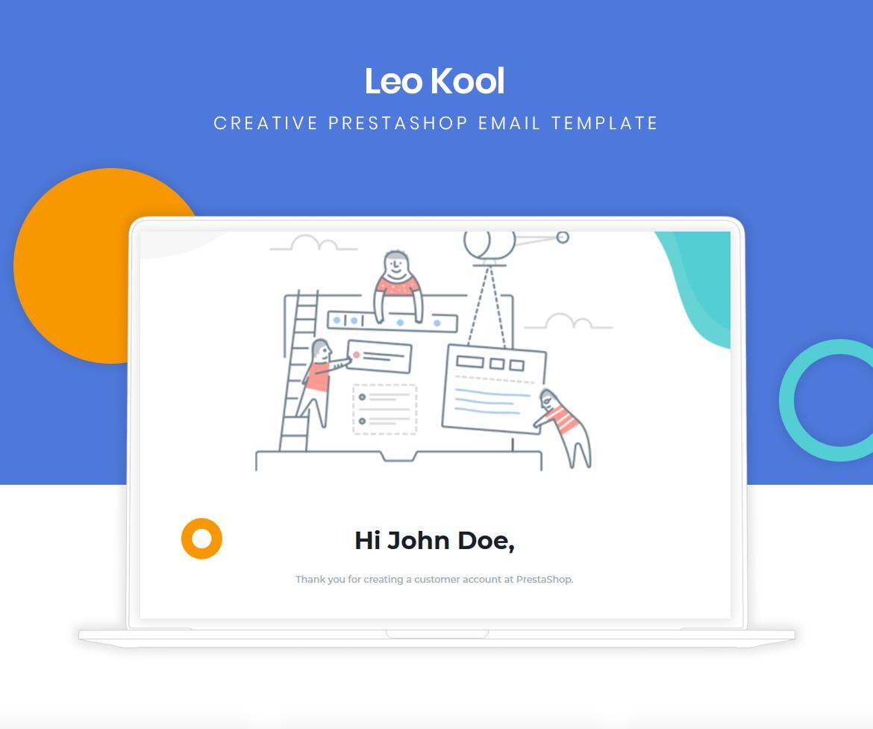 Leo Kool - Creative Responsive PrestaShop Email Template
