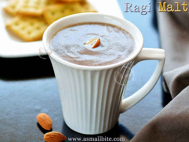 Ragi Malt recipe for weight loss