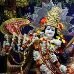 ISKCON Juhu Sringar Deity Darshan on 8th July 2019
