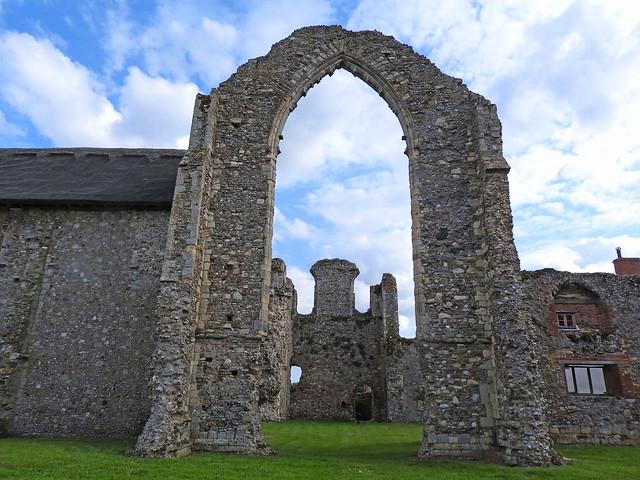 Leiston Abbey ruins, Suffolk