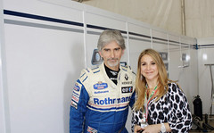 Racing Family - F-1 - Indy - Paul Newman- Kitty de Melo - Kitty Tavares de Melo - Newman Own Foundation- Philanthropists - Auto Racing