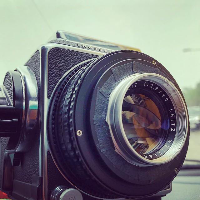 Leica M 90mm f2.8 的女像曰夜