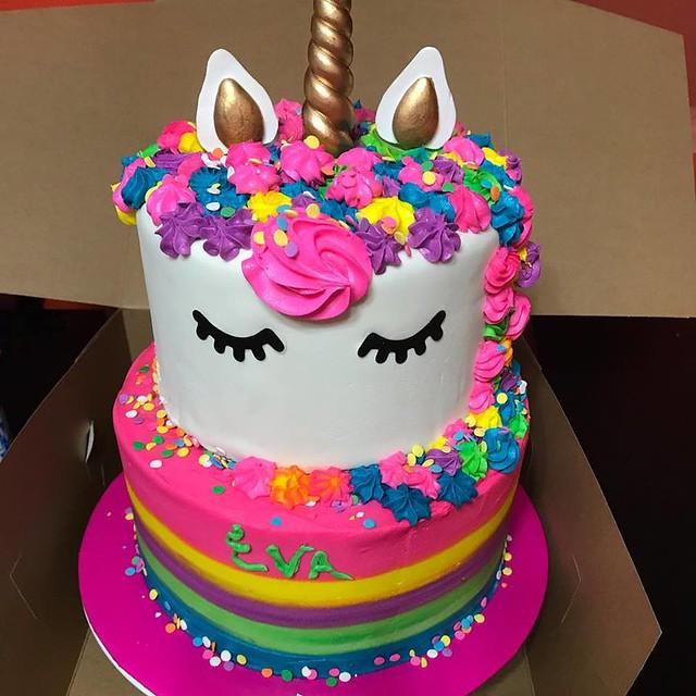 Unicorn Cake by Veves Cakes