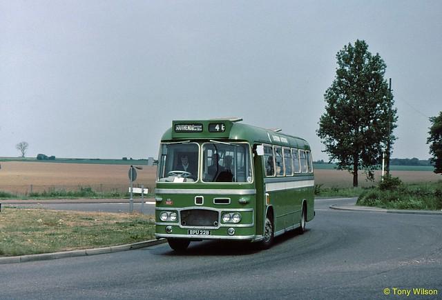 BPU22B National Bus Company NBC Eastern National ENOC 1447