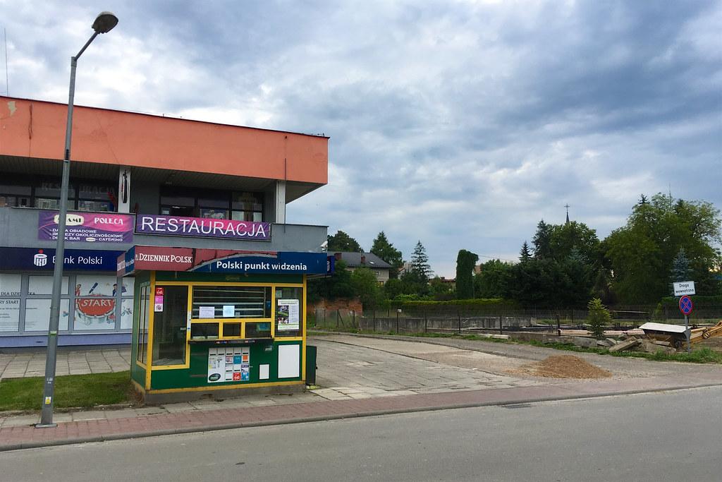 Kiosk bez gazet / Empty kiosk
