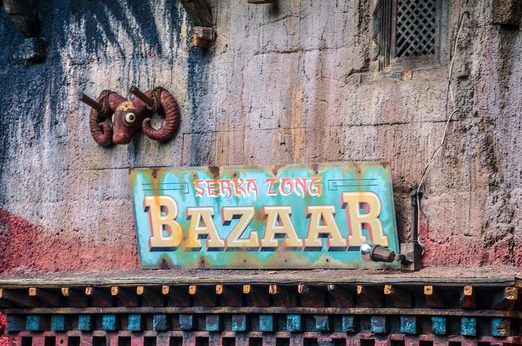 Bazaar sign AK