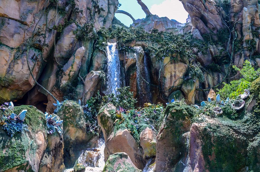 Pandora FoP waterfall AK
