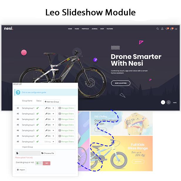 Revolution Slideshow Module