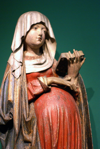 Liebieghaus, Maria in der Hoffnung (Pregnant Virgin Mary)