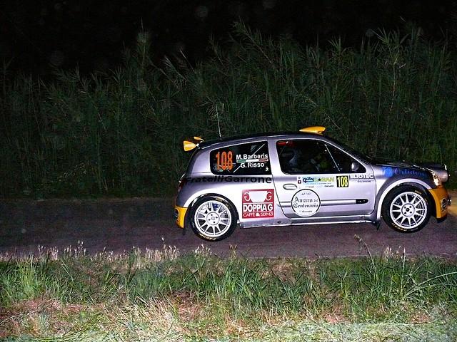 108 GIORDANO BARBERIS MATTIA - RISSO GIULIA S 1600 RENAULT CLIO EUROSPEED