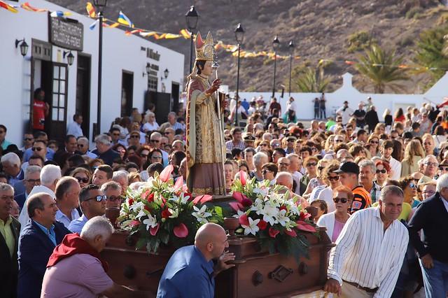 Procesión en honor a San Marcial de Rubicón en Femés (07-07-19)