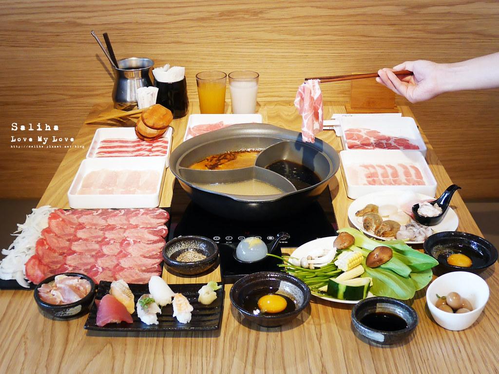 台北劍南路站大直美麗華餐廳美食推薦溫野菜壽喜燒火鍋吃到飽