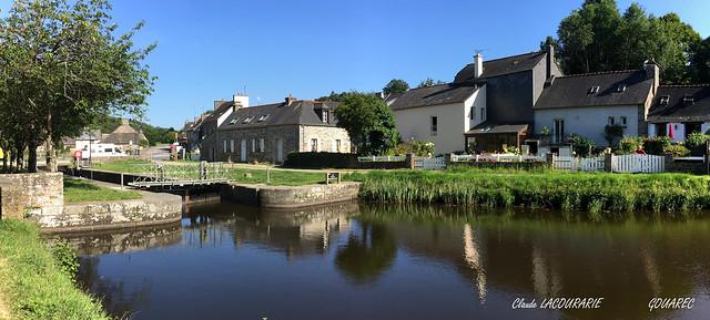 GOUAREC Canal de Nantes à Brest