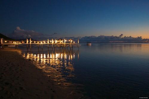 maradiva flic en flac mauritius sunset people sea ocean deck dusk sun pentax pentaxk3ii pentaxart romantic ship cargo horizon dark cruise sigma sigmalens sigmaart sigma1020 lights beach sand