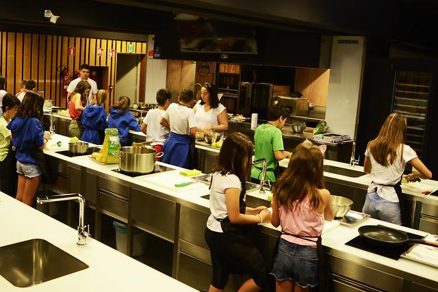 Colonia Gastronómica infantil Fundación Abastos