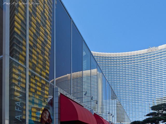 Reflecting composition  (Las Vegas, Aria)