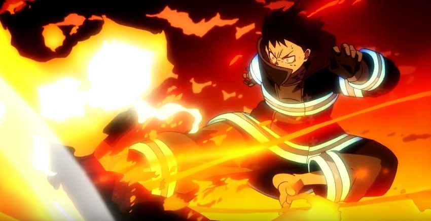 Fire Force Episode 1 Shinra