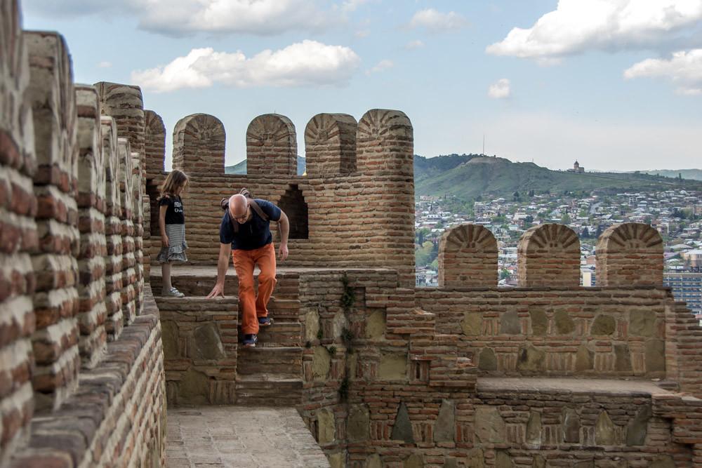 Крепость Нарикала Тбилиси