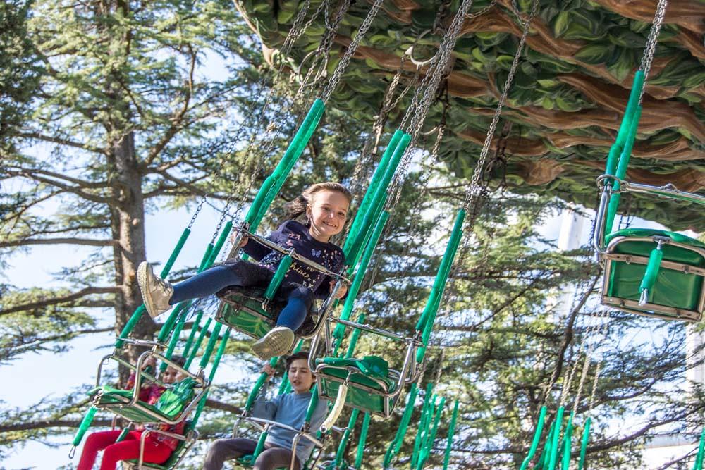 Парк Мтацминда Тбилиси