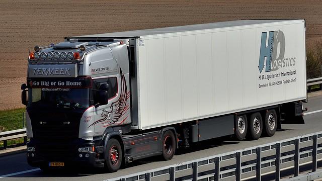 NL - Termeer >H.D. Logistics< Scania R13 TL Silver Griffin