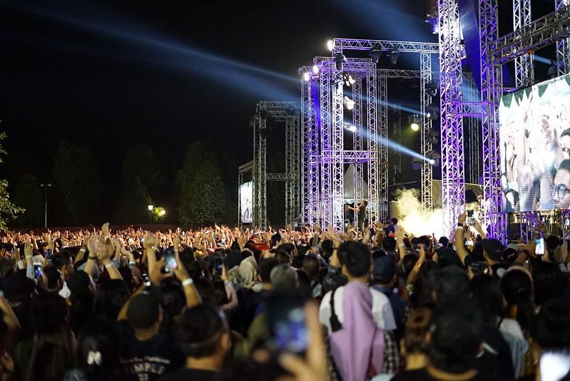 Ari Lasso di Prambanan Jazz Festival 2019