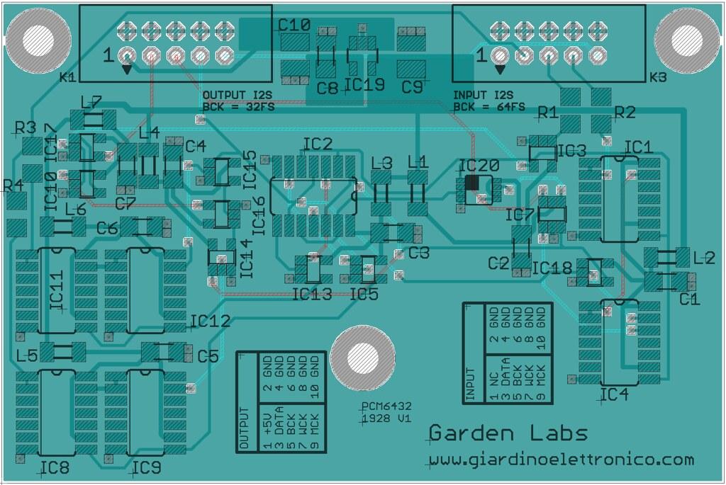 Scheda PCM6432 per TDA1541 48230714147_1fd3f9ed66_b_d