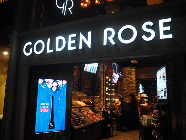 P6224112 GOLDEN ROSE トルコ イスタンブール トルコ化粧品  ひめごと