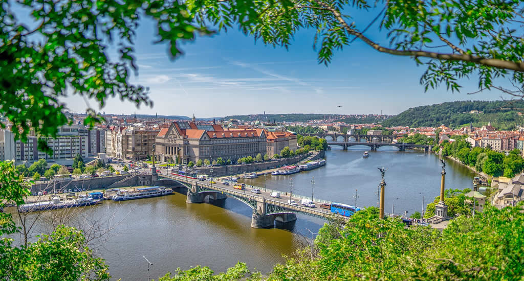 Fietsen in Praag: de mooiste uitzichtpunten | Mooistestedentrips.nl