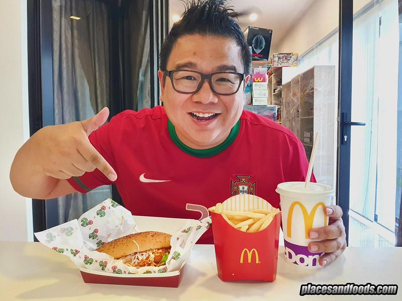mcD portuguese burger placesandfoods