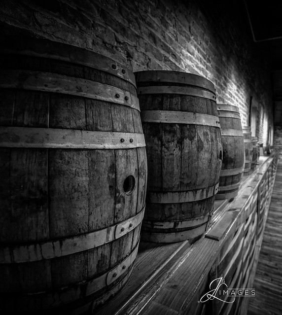 Bourbon Barrels @ Buffalo Trace Distillery