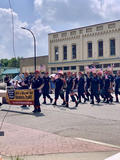 Ypsilanti 4th of July parade  #fourthofjuly #redwhiteandblue