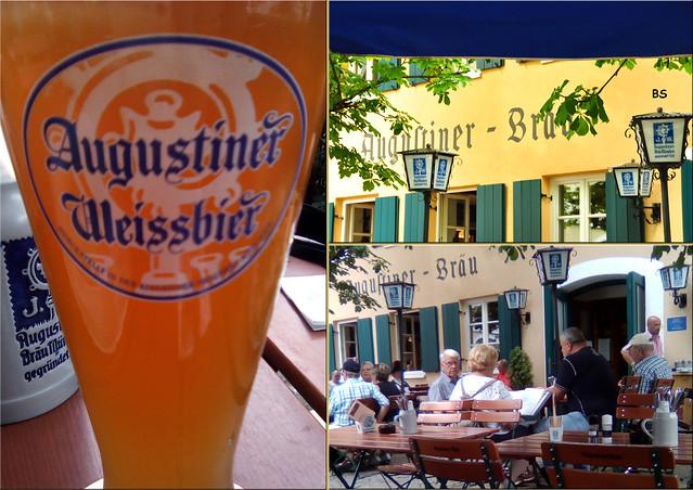 Juli 2019 ... Restaurant Rössle in Bad Wörishofen mit Biergarten ... Fotos: Brigitte Stolle