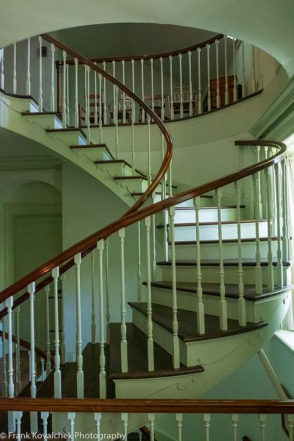 Interior of the Hagley House