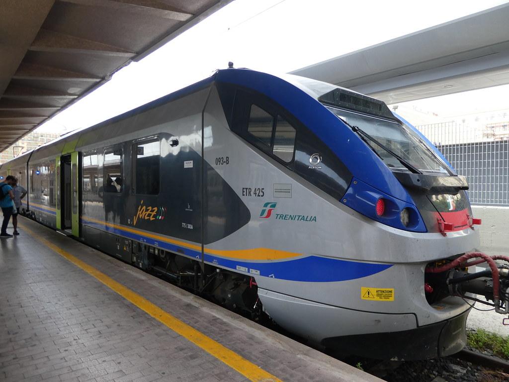 Tren Italia service from Palermo Centrale