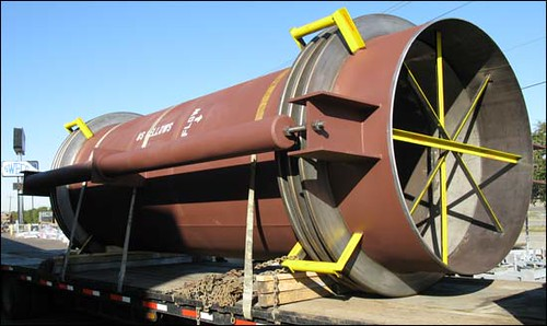 "72"" Diameter Tied Universal, Thick-wall Expansion Joint for a Sulfuric Acid Plant"