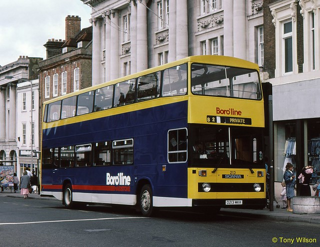 D213MKK Boro'line Maidstone Boropugh Transport 213