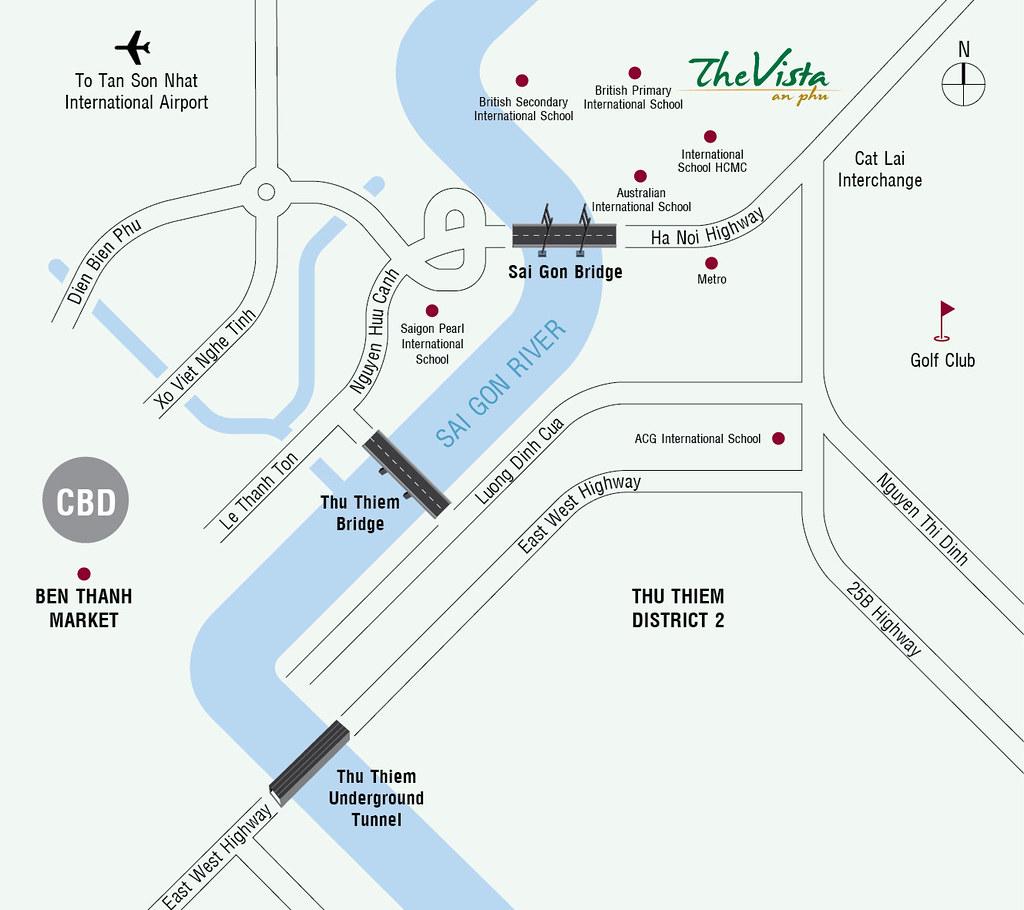 The Vista An Phú & Vị trí đắc địa hàng đầu quận 2.