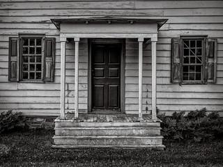 Rockingham porch (Rockingham Historic Site, Kingston, NJ)