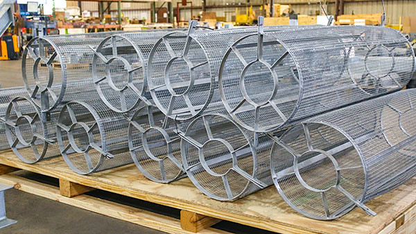 Personnel Protection Shields Designed for a Power Plant