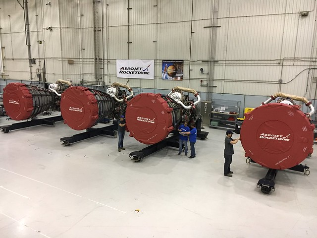 Artemis 1 Engines Delivered to NASA's Michoud Assembly Facility