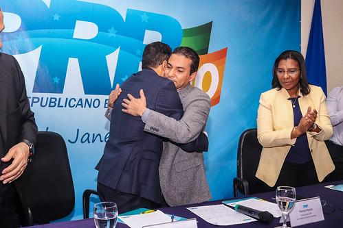 Posse da nova executiva do PRB-RJ