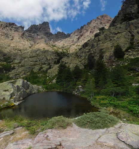 Paglia Orba derrière le lac de la Paglia Orba