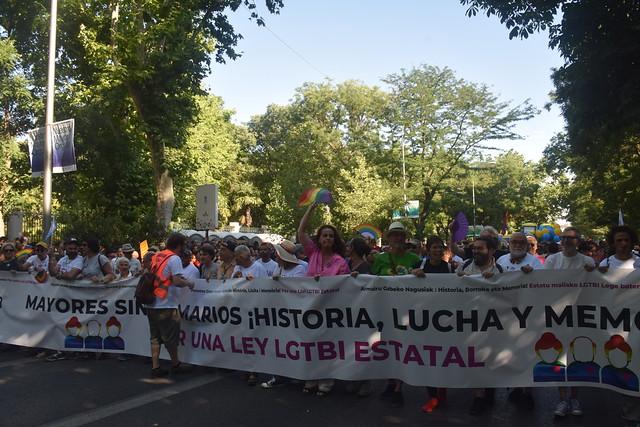 Manifestación Orgullo LGTBI Madrid 2019