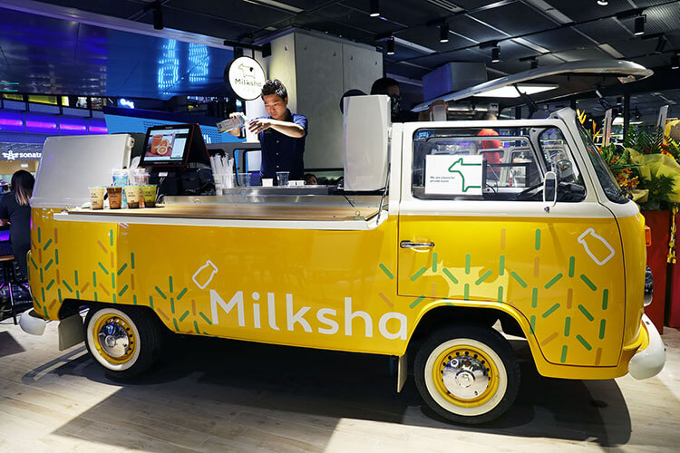 Milksha at Funan Mall