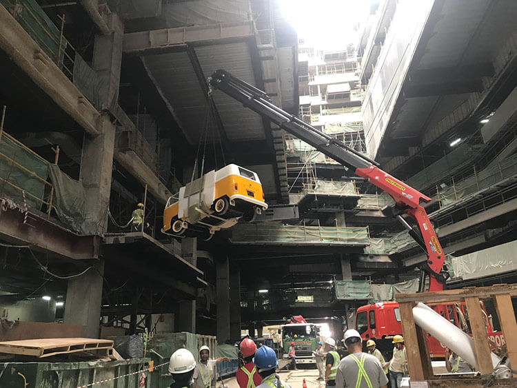 Funan Mall Revamped