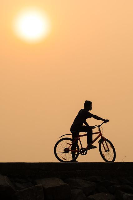 Sunset Silhouette, Fort Kochi