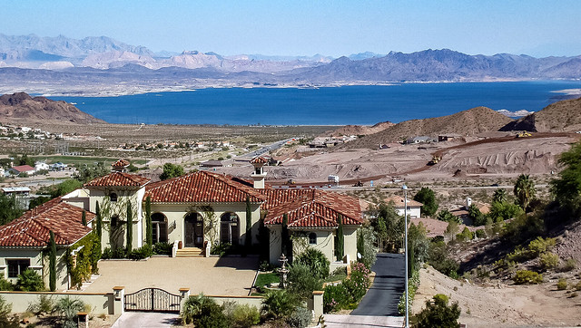 View of Lake Mead from Henderson, Nevada